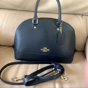 Coach Large Sierra Satchel Leather Handbag